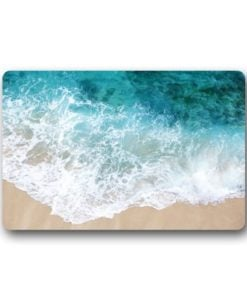 Custom-It-Waves-on-the-Beach-Rectangular-Decorative-non-slip-Doormat-157-by-236-by-316-Inch-0