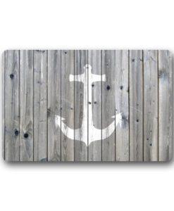 DailyLifeDepot-Generic-Machine-Clean-Top-Fabric-Non-Slip-Rubber-Backing-Durable-Indoor-Outdoor-Doormat-Door-Mats-Retro-Gray-Wood-Pattern-Anchor-Print-Design-0