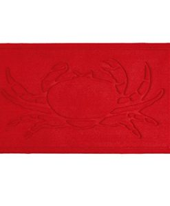 Decorative-Nautical-Crab-Red-IndoorOutdoor-Doormat-0