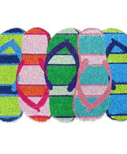 Flip-Flop-Shaped-Door-Mat-0-247x300 Best Flip Flop Decor