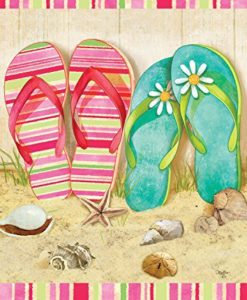 Flip-Flop-Summer-Garden-Flag-Seashells-Beach-Starfish-125x18-0-247x300 Best Flip Flop Decor