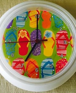 Flip-Flops-Wall-Clock-0-247x300 Best Flip Flop Decor