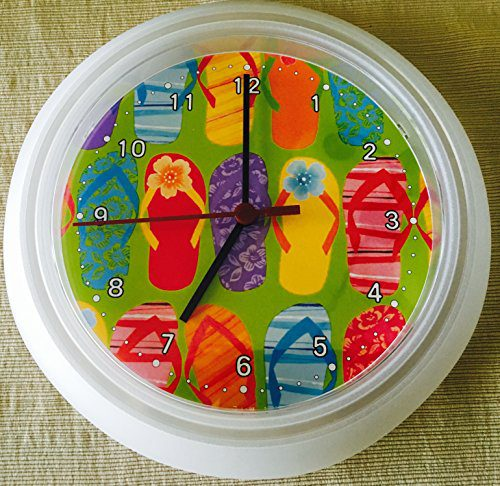 Flip-Flops-Wall-Clock-0 Best Flip Flop Decor