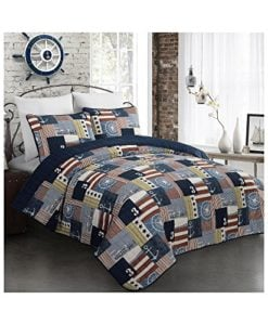 Fraser-Nautical-Flag-Quilt-Set-0-247x300 The Best Kids Beach Bedding You Can Buy