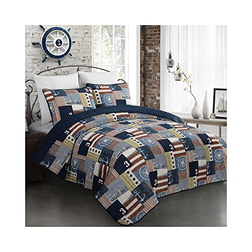 Fraser-Nautical-Flag-Quilt-Set-0