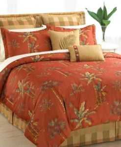 Halmart-Collectibles-Spice-Palm-8-Piece-Comforter-Set-Queen-0