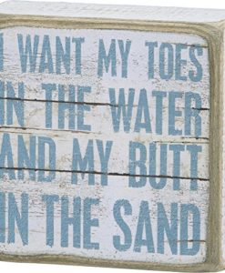 I-Want-My-Toes-In-The-Water-And-My-Butt-In-The-Sand-Vintage-Plank-Board-Beach-Coastal-Decor-Box-Sign-4-in-x-4-in-0