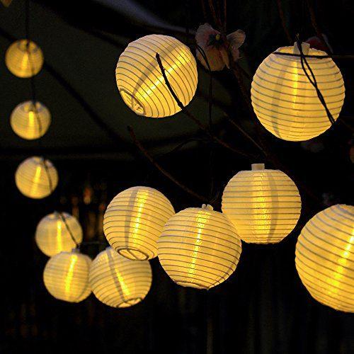 Outdoor Party Lights Solar: Innoo Tech Solar String Lights Outdoor