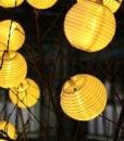 Innoo-Tech-Solar-String-Lights-Outdoor-157ft-20-LED-Warm-White-Fabric-fairy-Lantern-Ball-Christmas-Globle-Lights-for-Garden-Path-Party-0-6