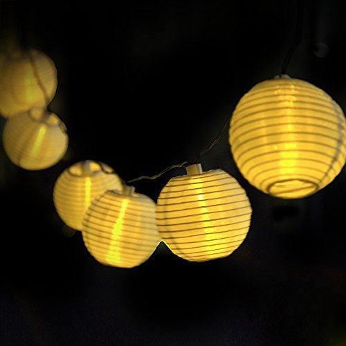 Innoo Tech Solar String Lights Outdoor 20 Lights