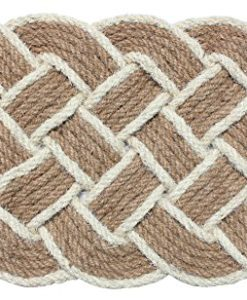 J-M-Home-Fashions-Oval-Knot-Woven-Coco-Doormat-22-Inch-by-36-Inch-0