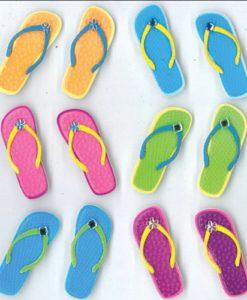 Jolees-Boutique-Cabochons-Dimensional-Stickers-Flip-Flops-0