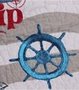 MakeTop-on-the-Trip-Nautical-Theme-Boys-Quilt-Sham-Set-2pc-Twin-0-2
