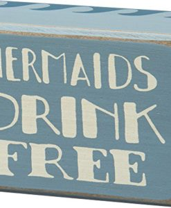 Mermaids-Drink-Free-Vintage-Coastal-Mini-Wood-Box-Sign-4-in-x-3-in-0