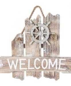 Nautical-Welcome-Wood-Wall-Plaque-0-247x300 The Ultimate Guide to Wood Beach Accent Signs