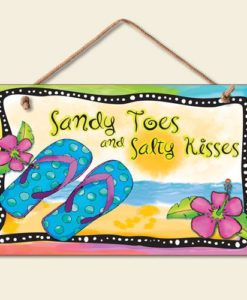 Flip Flop Summer Art Sign
