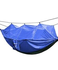 OUTAD-Portable-Parachute-Nylon-Fabric-Travel-Mosquito-Net-Camping-Hammock-0