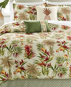 Palm-Trees-Tropical-Beach-House-Hawaiian-Queen-Comforter-Set-8-Piece-Bed-In-A-Bag-HOMEMADE-WAX-MELT-0-247x300 The Best Palm Tree Comforter and Bedding Sets