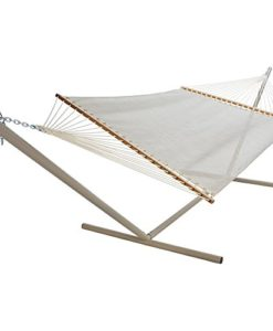 Pawleys-Island-Autumn-Fern-Textilene-Large-Poolside-Fabric-Hammock-0-247x300 The Best Outdoor Hammock Options You Can Buy