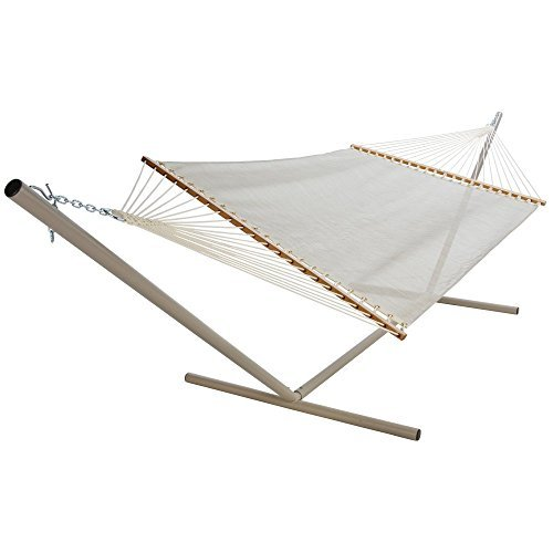 Pawleys-Island-Autumn-Fern-Textilene-Large-Poolside-Fabric-Hammock-0 The Best Outdoor Hammock Options You Can Buy