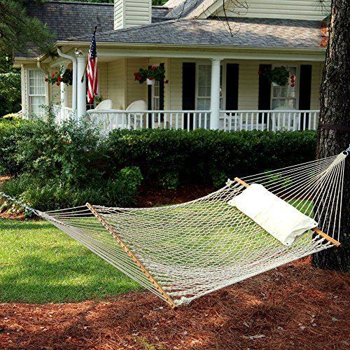 Pawleys-Island-Deluxe-Rope-Hammock-0 The Best Outdoor Hammock Options You Can Buy