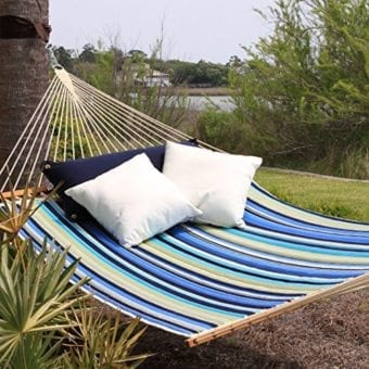 Pawleys-Island-QBE01-Quilted-Fabric-Hammock-Beaches-Stripe-Large-0-340x340 The Ultimate Guide to Outdoor Hammocks