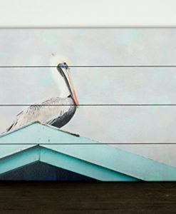 Pelican-Sign14x20-inch-Ready-to-Hang-Modern-Coastal-Wood-Plank-Art-0