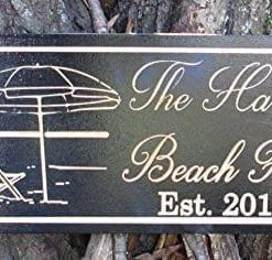 Personalized-Beach-House-Sign-Custom-Carved-Wood-Sign-Beach-Umbrella-0