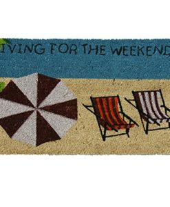 Rubber-Cal-Living-for-the-Weekend-Beach-Doormat-18-by-30-Inch-0