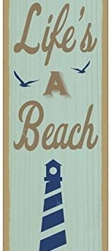 Summer-Quote-Wooden-Sign-Plaque-5-x-15-0-159x360 100+ Wooden Beach Signs & Wooden Coastal Signs