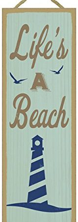 Summer-Quote-Wooden-Sign-Plaque-5-x-15-0-159x450 100+ Wooden Beach Signs and Wooden Coastal Signs
