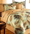 palm tree bedding