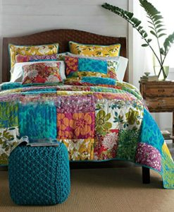 Tache-100-Cotton-3-PC-Colorful-Flower-Power-Party-Patchwork-Quilt-Set-0-247x300 Hawaii Themed Bedding Sets