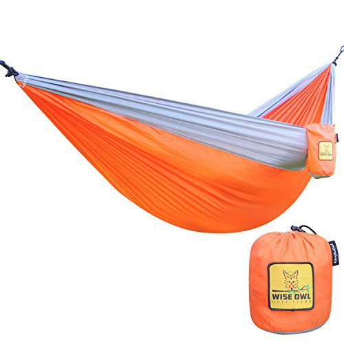 The-Ultimate-Single-Camping-Hammocks-The-Best-Quality-Camp-Gear-For-Backpacking-Camping-Survival-Travel-Portable-Lightweight-Parachute-Nylon-Ropes-and-Carabiners-Included-0 The Best Outdoor Hammock Options You Can Buy
