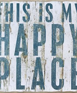 This-Is-My-Happy-Place-Vintage-Plank-Board-Beach-Coastal-Decor-Box-Sign-Jumbo-18-in-x-18-in-0-247x300 The Ultimate Guide to Wood Beach Accent Signs