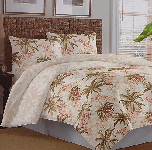 Tommy-Bahama-Bonny-Cove-ivory-pink-green-tropical-king-comforter-set-0 Hawaii Themed Bedding Sets