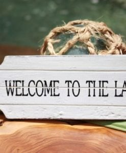 Welcome-To-The-Lake-Door-Tag-Wood-Sign-8-Rustic-Coastal-0