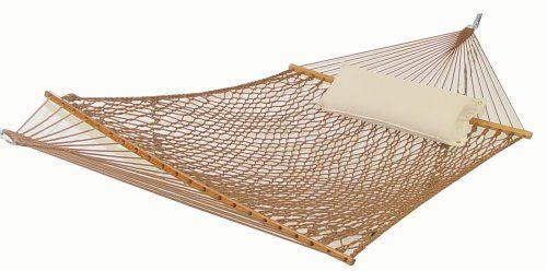 outdoor rope hammock