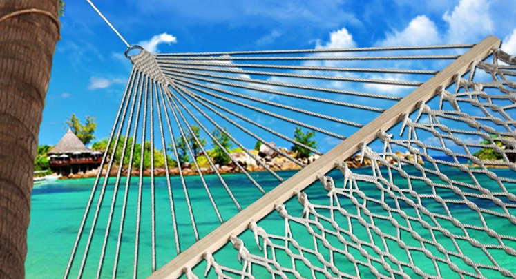 outdoor beach hammock