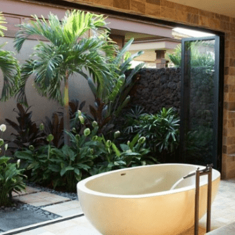 tropical-palm-tree-bathroom-decor-340x340 4 Ways to Create Comfort in Your Coastal Home