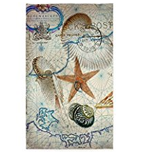 5-nautical-seashells-map The Ultimate Guide to Nautical Themed Area Rugs