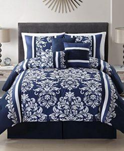 7-Piece-Taylor-NavyWhite-Comforter-Set-0