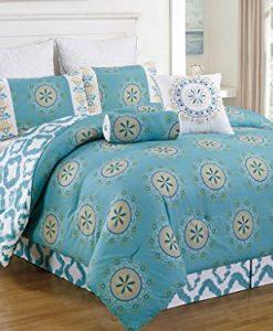 8-Piece-Arocena-Teal-Comforter-Set-0