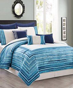 8-Piece-Tie-Dye-BlueWhite-Comforter-Set-0