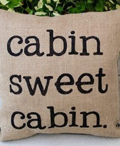 Burlap-Lake-Home-or-Cabin-Pillow-16-Pillow-Rustic-Decor-Northwoods-Lake-House-Pillow-with-Words-Cottage-Retirement-Gift-Rustic-Home-Parents-Gift-0