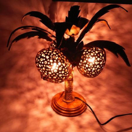 Coconut-Tree-Coconut-Shell-Lamp-Sold-By-Madeinthailand-0-450x450 100+ Coastal Themed Lamps