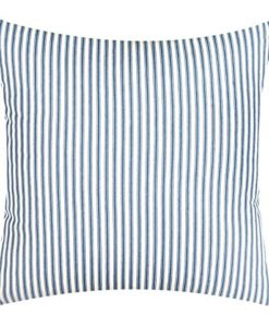 Decorative-Pillows-Throw-Pillows-Rectangle-Beach-Pillows-18-Square-Blue-Striped-Ticking-0
