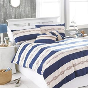 NAUTICAL-KNOT-NAVY-BLUE-CREAM-USA-QUEEN-SIZE-230CM-X-220CM-UK-KING-SIZE-COTTON-BLEND-COMFORTER-COVER-SET-0-300x300 Nautical Bedding Sets & Nautical Bedspreads
