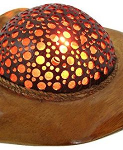 Natural-Coconut-Shell-Stingray-Accent-Lamp-Night-Light-0-247x300 The Best Coconut Table Lamps You Can Buy