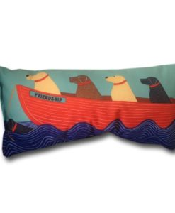 Nautical-Decor-Throw-Pillows-Beach-House-Outdoor-Pillows-Dog-Friends-17-x-8-0-247x300 The Best Nautical Pillows and Throw Pillows